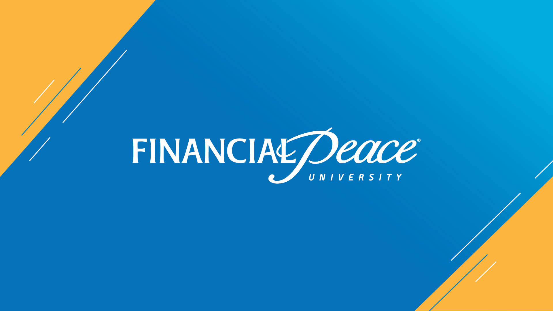 Financial Peace University - Sundays 10am